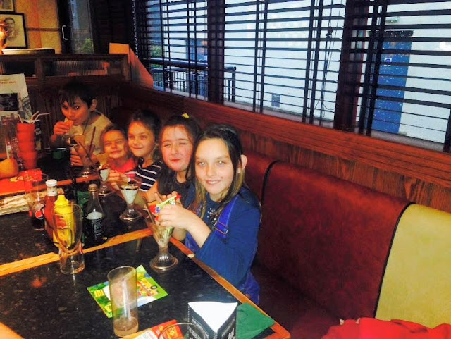 Birthday Meal Frankie and Benny's Carmarthen