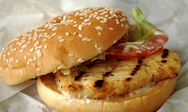 Burger King's Grilled Chicken Burger