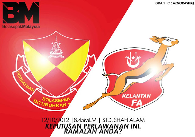 Video Gol Kelantan vs Selangor Separuh Akhir Kedua 12 Oktober 2012