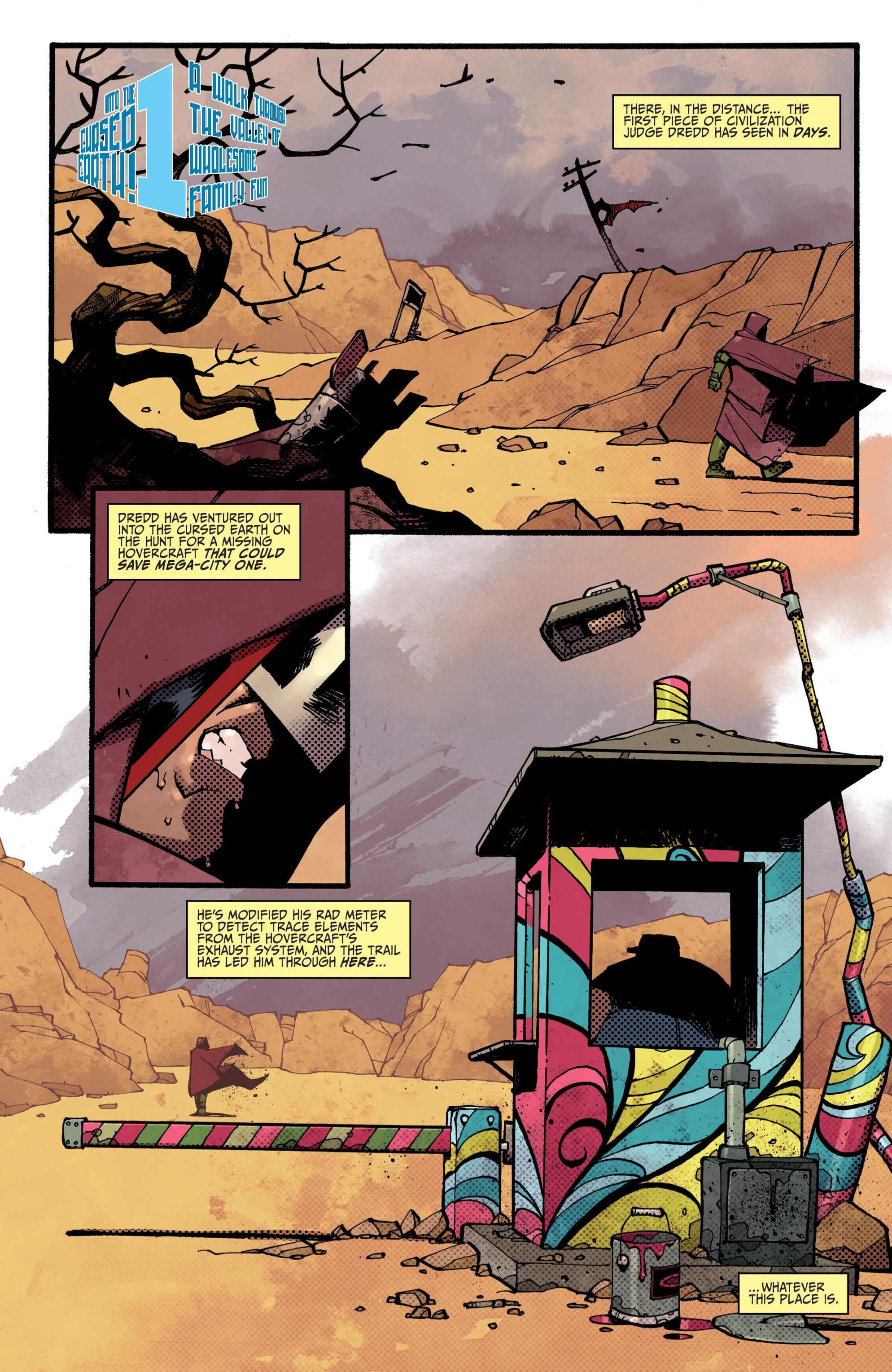 Read online Judge Dredd (2012) comic -  Issue # _TPB 3 - 6