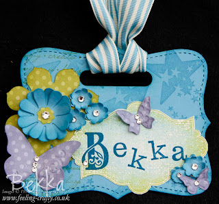Bekka's Stampin' Up! Name Badge