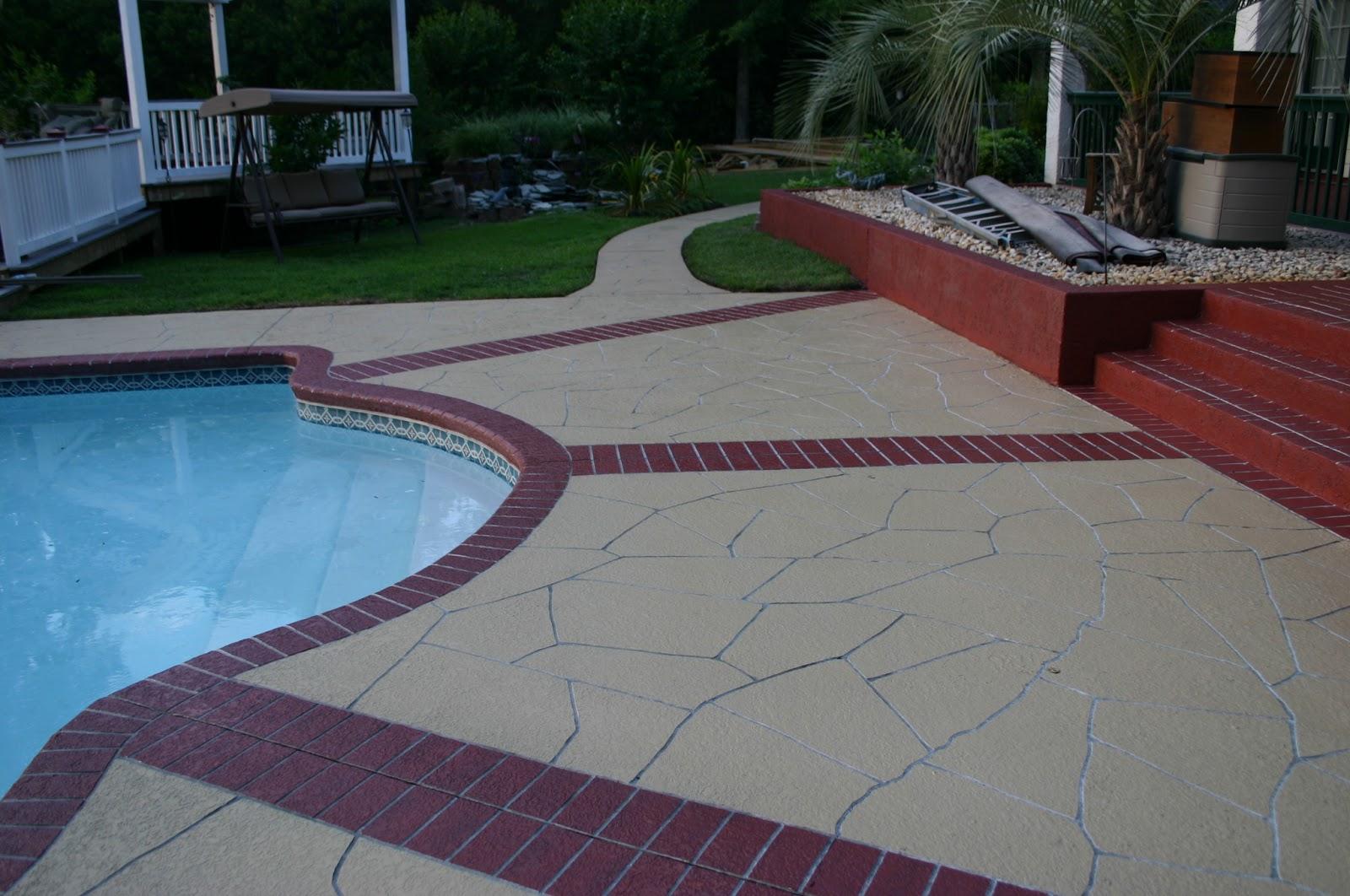 Instalacion de pisos de concreto piso de cemento estampado for Cemento pulido para exterior