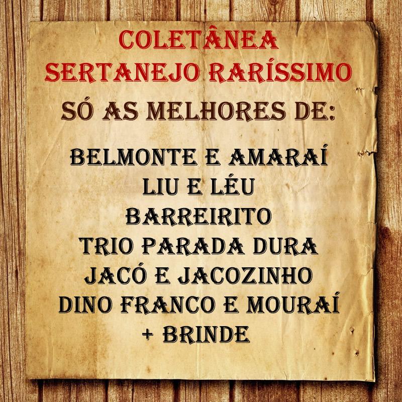 Coletânea - Sertanejo Raríssimo!