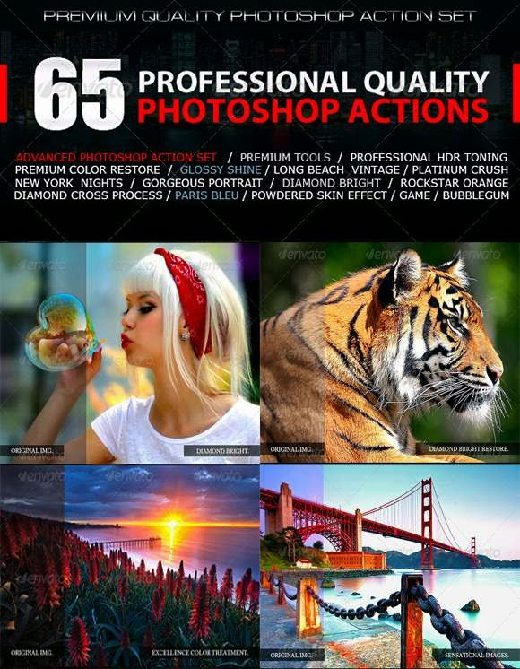 65 Profesional Quality Actions
