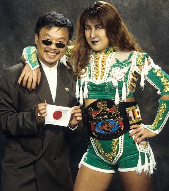 Akira Hokuto in the WCW