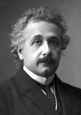 Albert Einstein photo