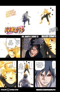 Naruto 696 Mangá Colorido em português