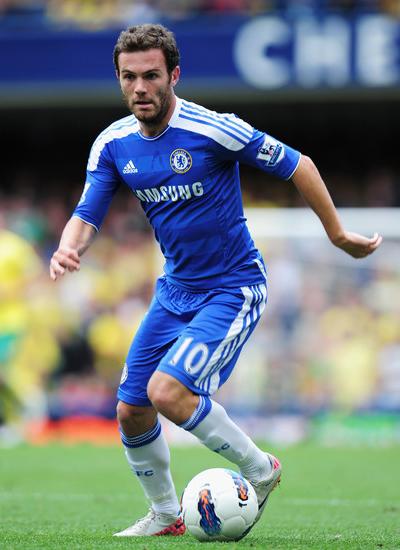 Juan Mata Chelsea 2011-2012