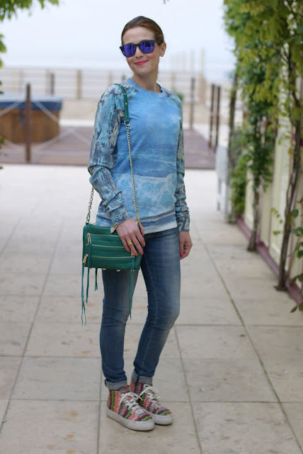 Alfa Omega sweatshirt, Rebecca Minkoff bag, Fashion and Cookies