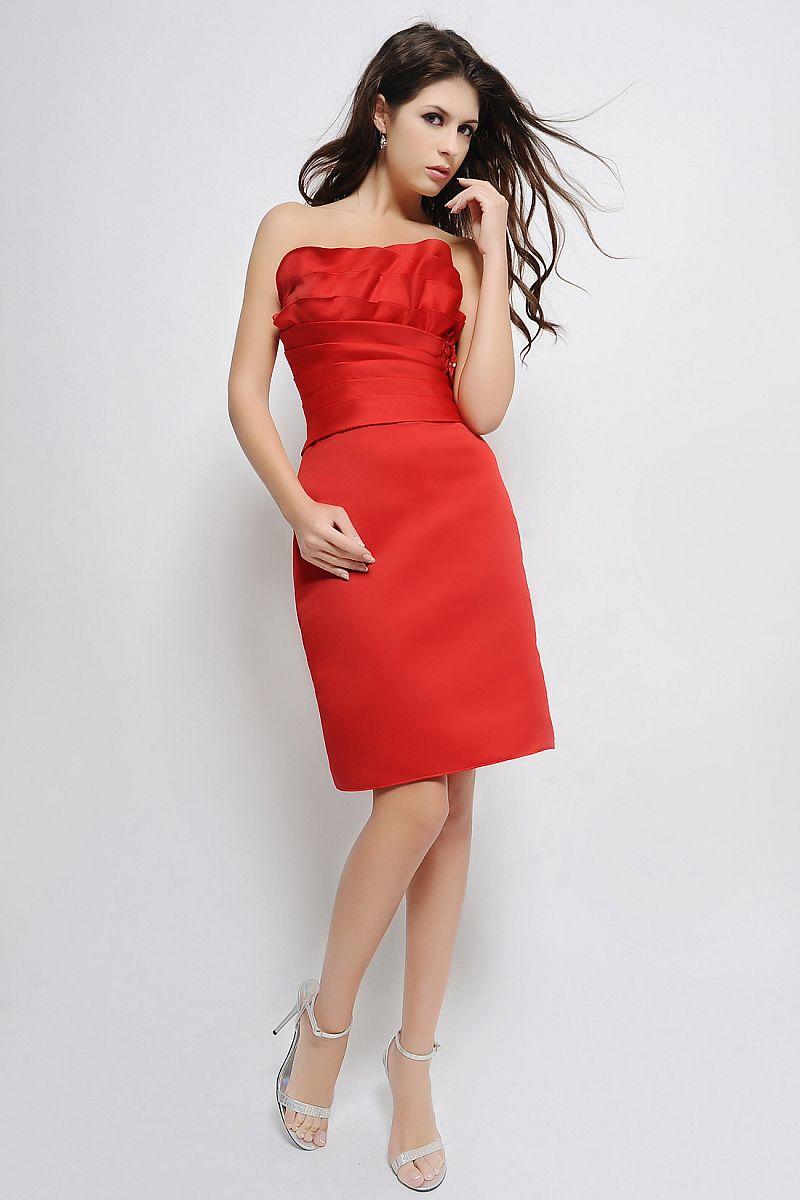 robes de mariage robes de soir e et d coration robe demoiselle d 39 honneur rouge. Black Bedroom Furniture Sets. Home Design Ideas
