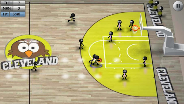 Android Stickman Basketball Apk resimi 5