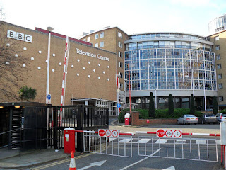 The BBC Television Centre, Wood Lane, London