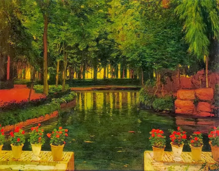 Jardines y patios de santiago rusi ol for El jardin de aranjuez