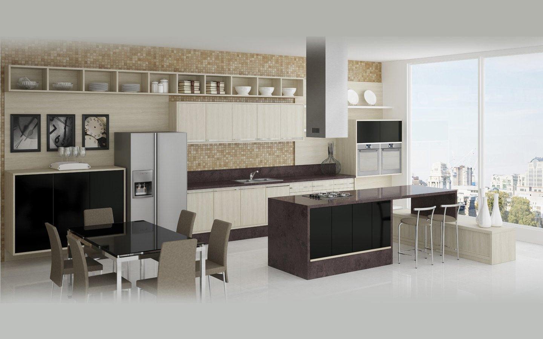 Projeto de cozinha (bem grande!) #766B55 1440 900