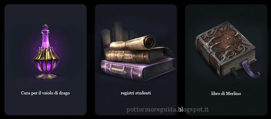 Domanda 24: Un troll si aggira inferocito nello studio del Preside di Hogwarts. Sta per mandare in frantumi, distruggere e stracciare numerosi e insostituibili oggetti e tesori, tra cui la cura per il vaiolo di drago, che il Preside ha quasi perfezionato, i registri degli studenti che risalgono a 1000 anni fa e un misterioso libro manoscritto pieno di strane rune, che si crede sia appartenuto a Merlino. Se tu potessi, in quale ordine metteresti in salvo questi oggetti dalla clava del troll?