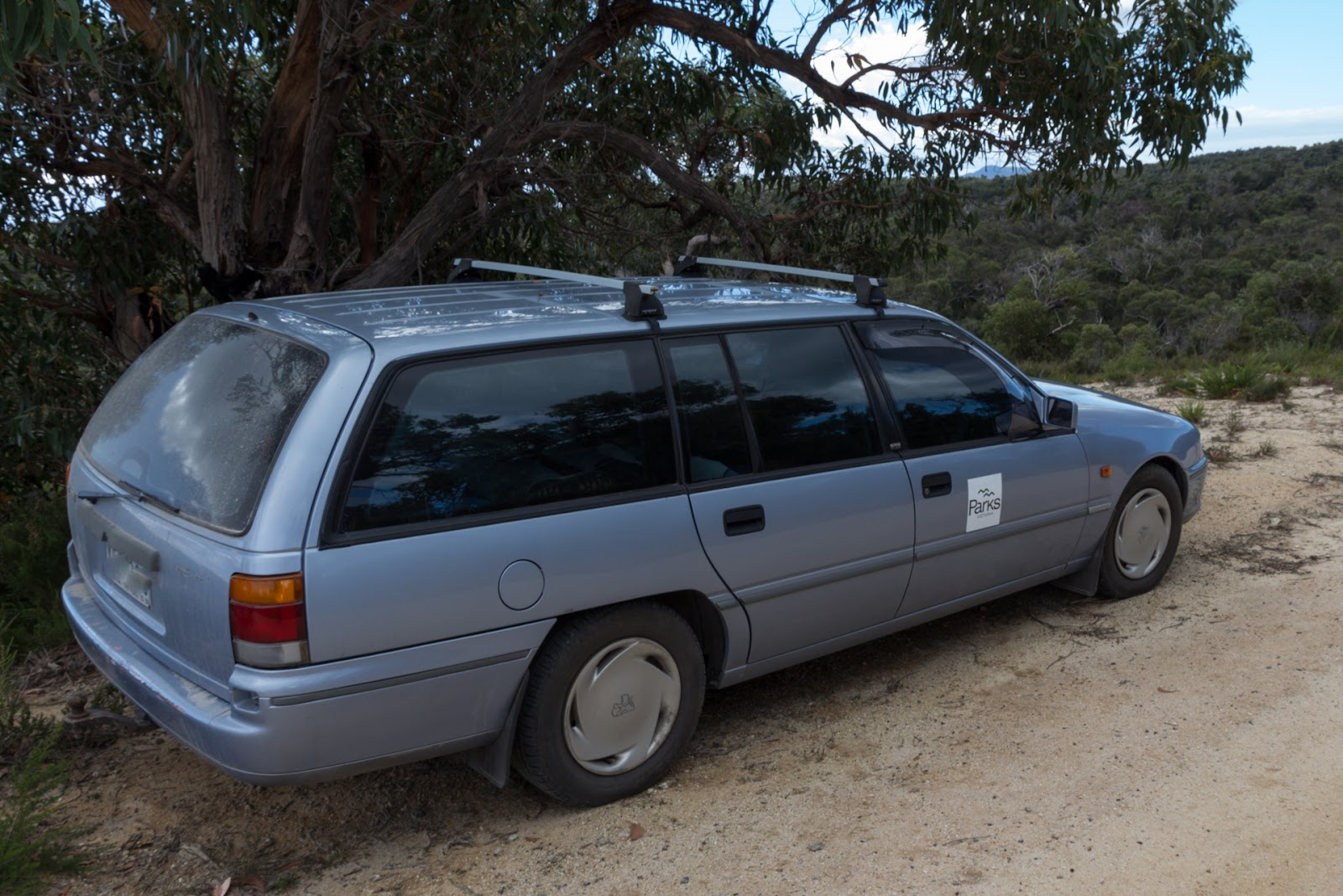 1989 vn holden commodore station wagon