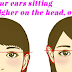 What Does Your Ear Height Say About You
