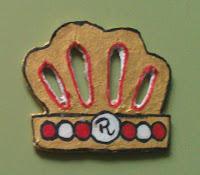 DIY: corona en cartón
