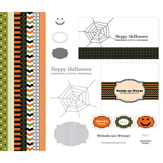 Spooky Treats Digital Download Kit by Stampin' Up!