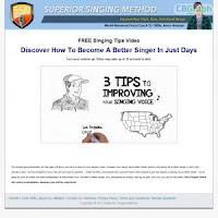 FREE Singing Tips Video - Superior Singing Method