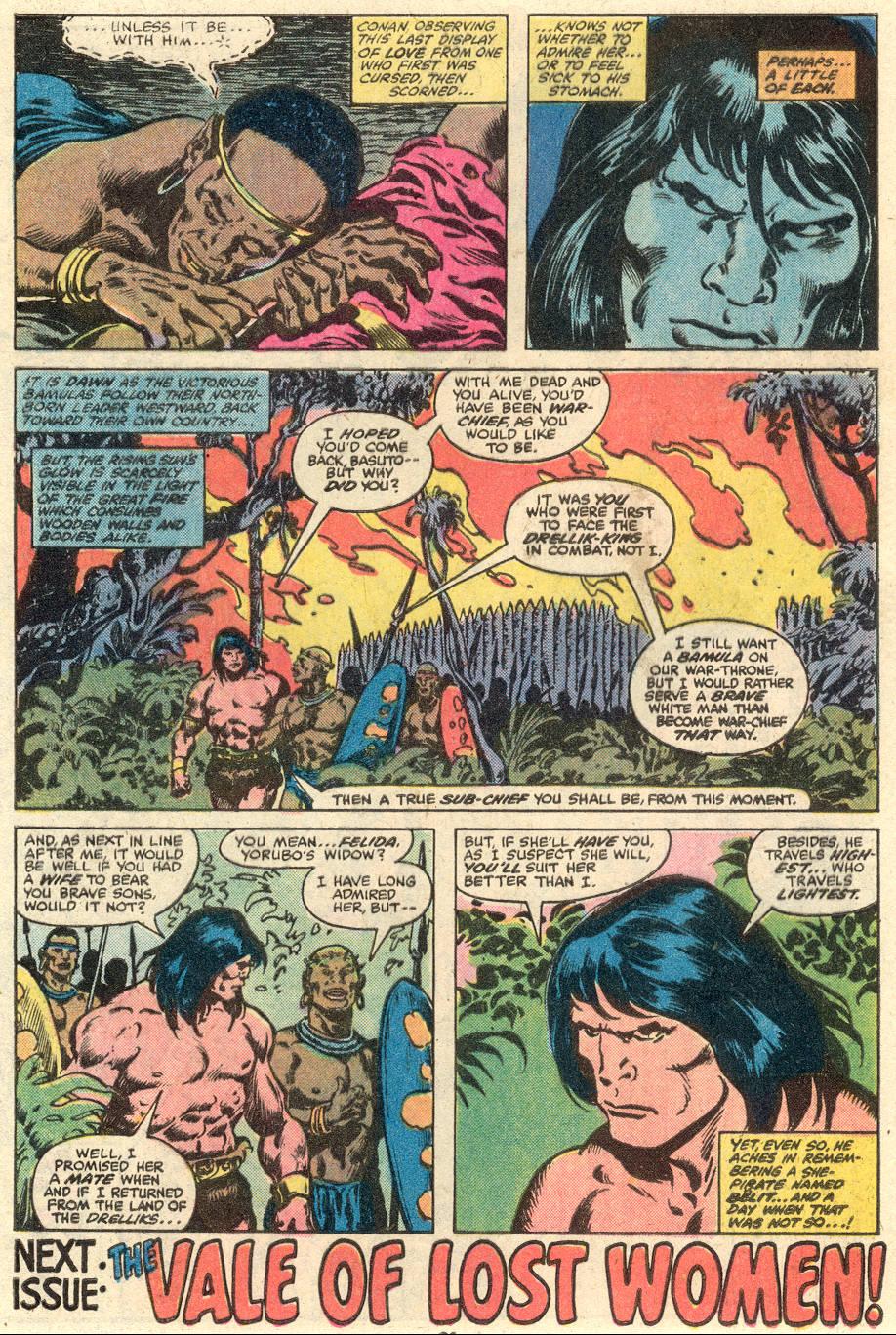 Conan the Barbarian (1970) Issue #103 #115 - English 18