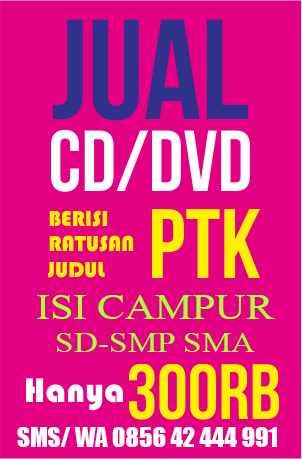 JUAL CD DVD PTK