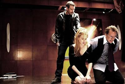Escena de la película de Nicolas Cage y Nicole Kidman, Bajo Amenaza