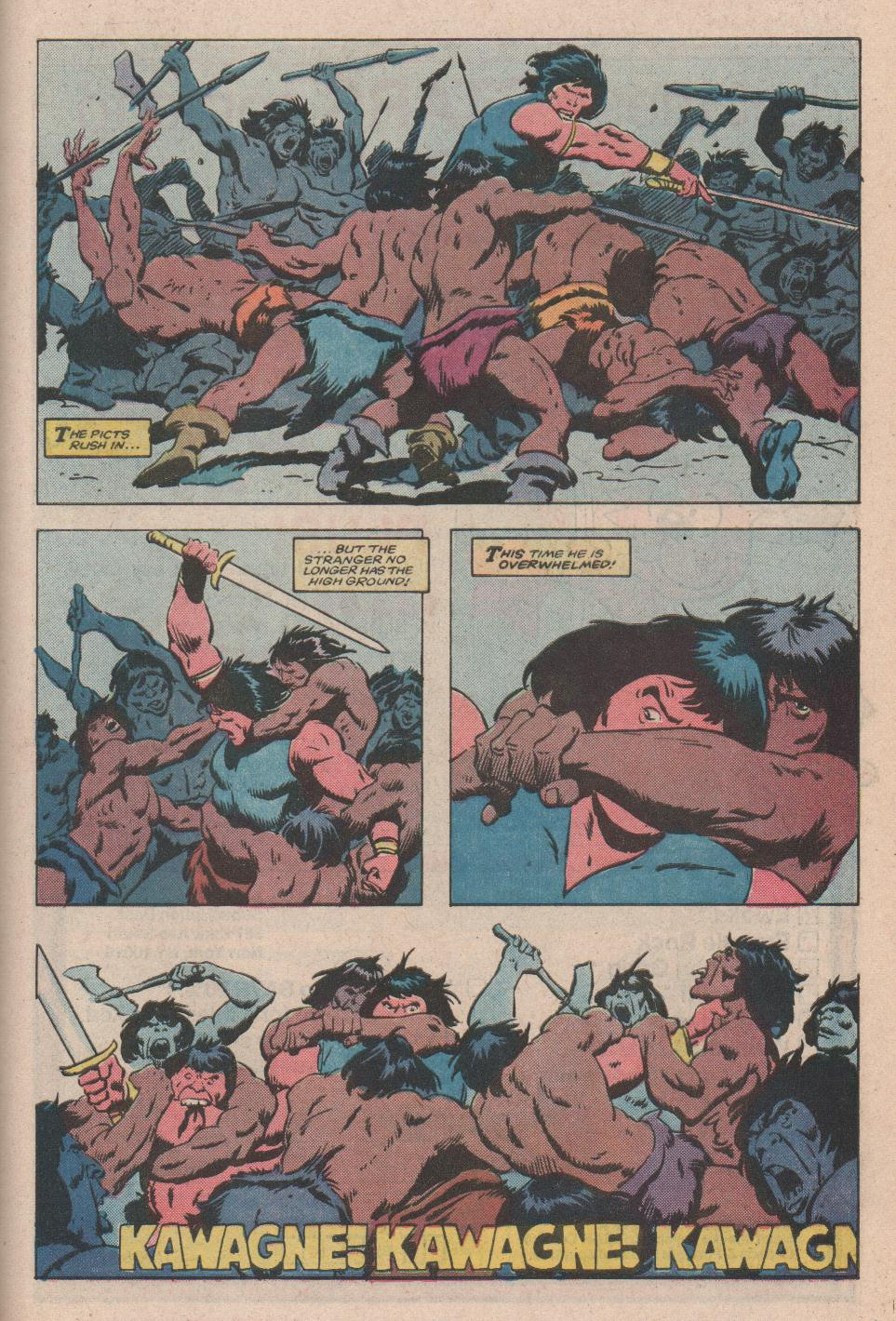 Conan the Barbarian (1970) Issue #172 #184 - English 20