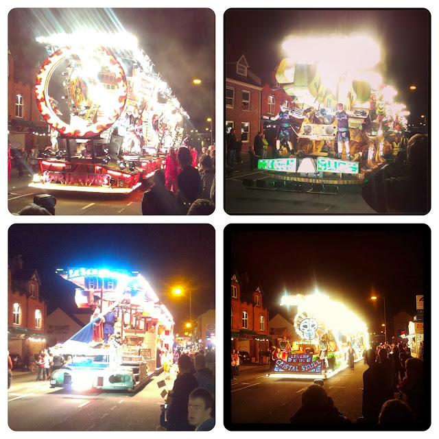 Taunton Carnival procession