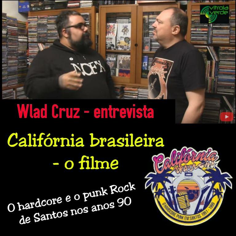 """Wlad Cruz (jornalista) - """"Santos, a Califórnia Brasileira"""" (O filme)"""
