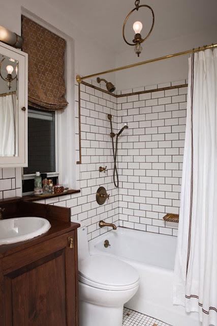 Interior Kamar Mandi Minimalis | Sumber gambar : Freshome.com
