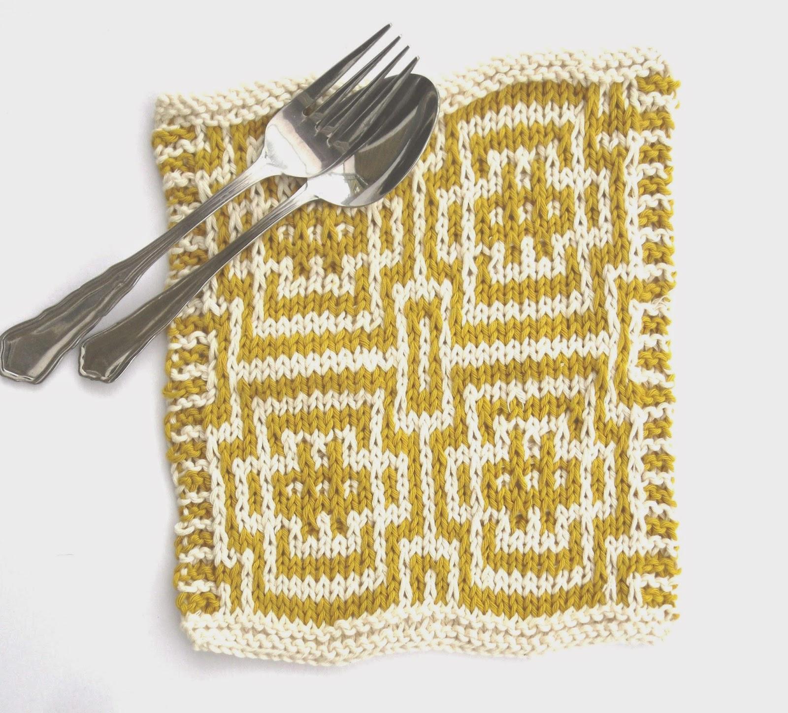 Free Mosaic Knitting Patterns : The Feminine Touch UK Knitting / Felting blog: Free Mosaic Pattern for a sc...