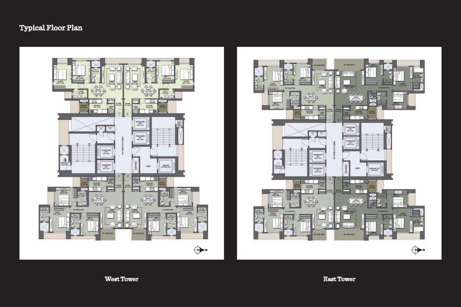 Multistorey Apartment Plans
