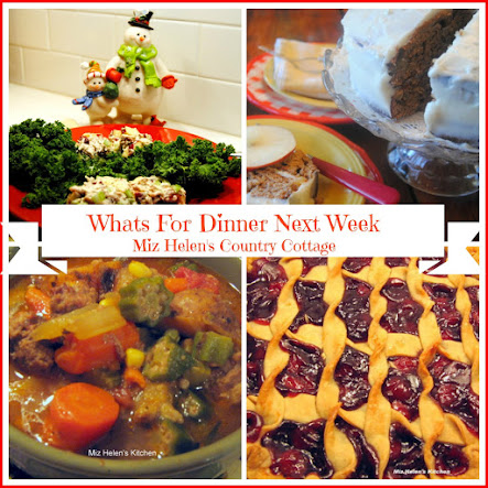 Whats For Dinner Next Week 12-04-16 to 12-10-16