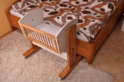 Bassinet Attached To Bed7