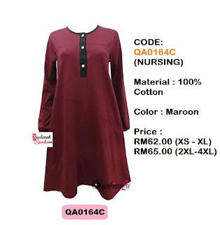 T-Shirt-Muslimah-Qaseh-QA0164C