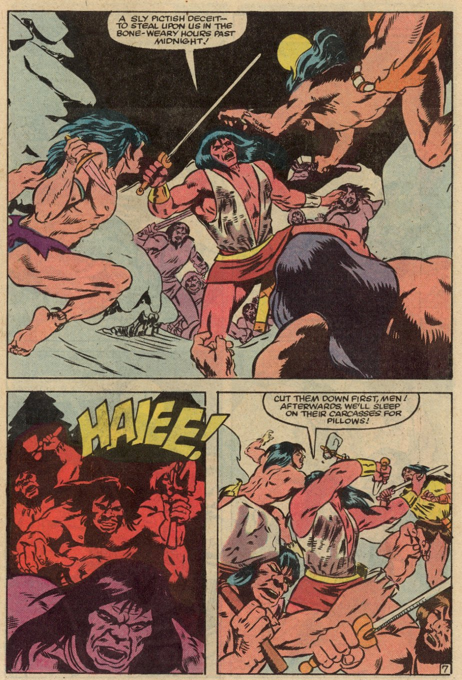 Conan the Barbarian (1970) Issue #145 #157 - English 8