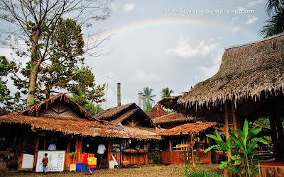 Pemandangan Suasana Desa Kampung Jowo