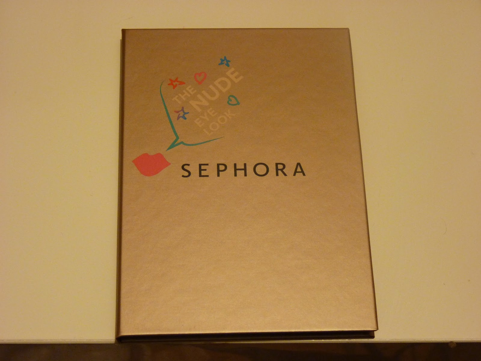 palette nude, 4 eye look book, sephora,