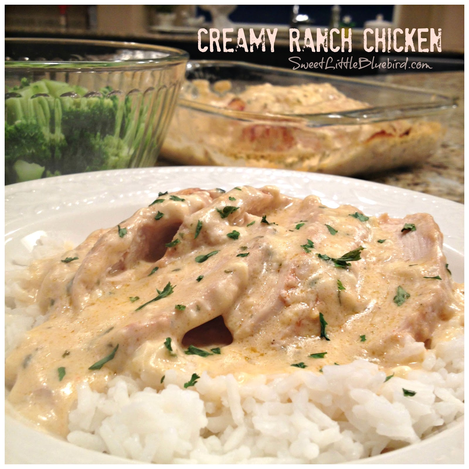 Chicken with ranch dressing packet recipe