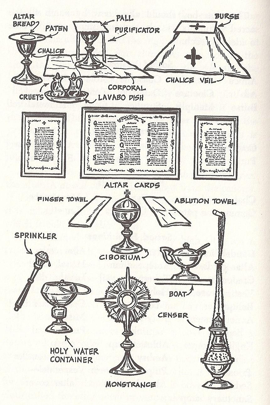 Vessels+Used+In+Catholic+Mass Servimus unum Deum - Latin Mass Altar ...