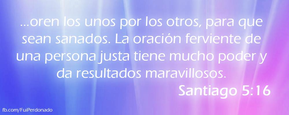 Santiago 5:16
