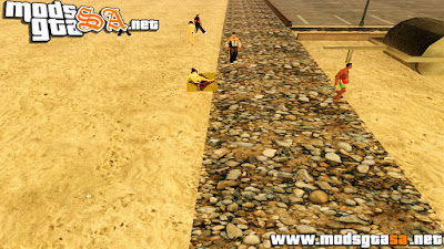 Praia Retexturizada do GTA V para GTA SA