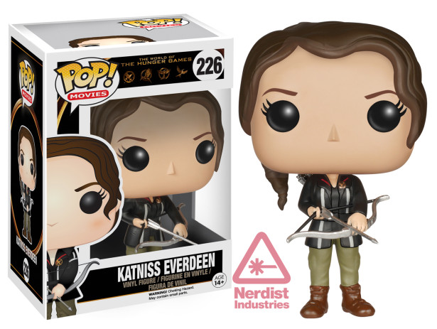 Katniss Hunger Games outfit Funko Pop
