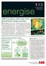 Energise Newsletter 1/2013