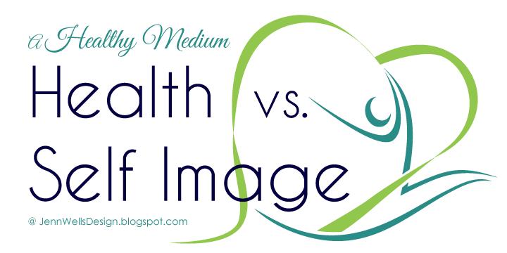 A healthy medium: health vs self image
