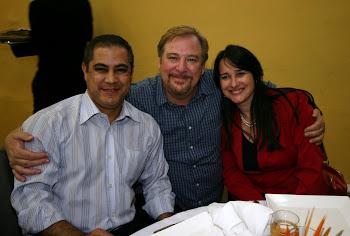 Pr. Daniel Fialho, Rick Warrer ( Uma vida com propósitos) e Marta Lança
