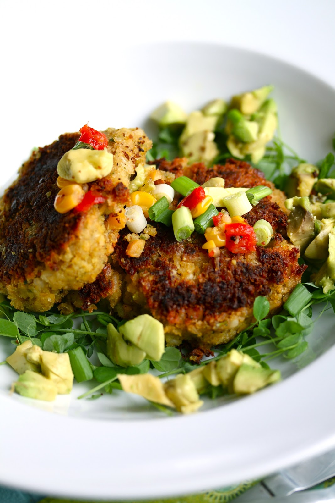 Vegan Chickpea Cakes With Mashed Avocado Recipes — Dishmaps