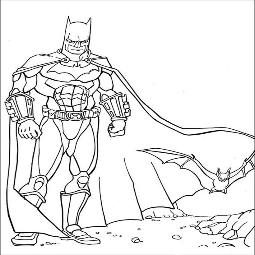 Batman Coloring Pages For 1 Graders Coloring Pages