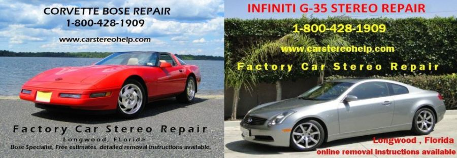 Factory Car Stereo Repair inc.